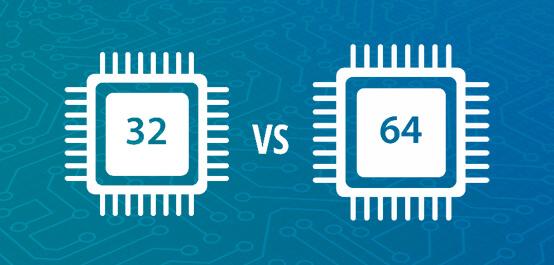 diferença entre um sistema 32 e 64 bits