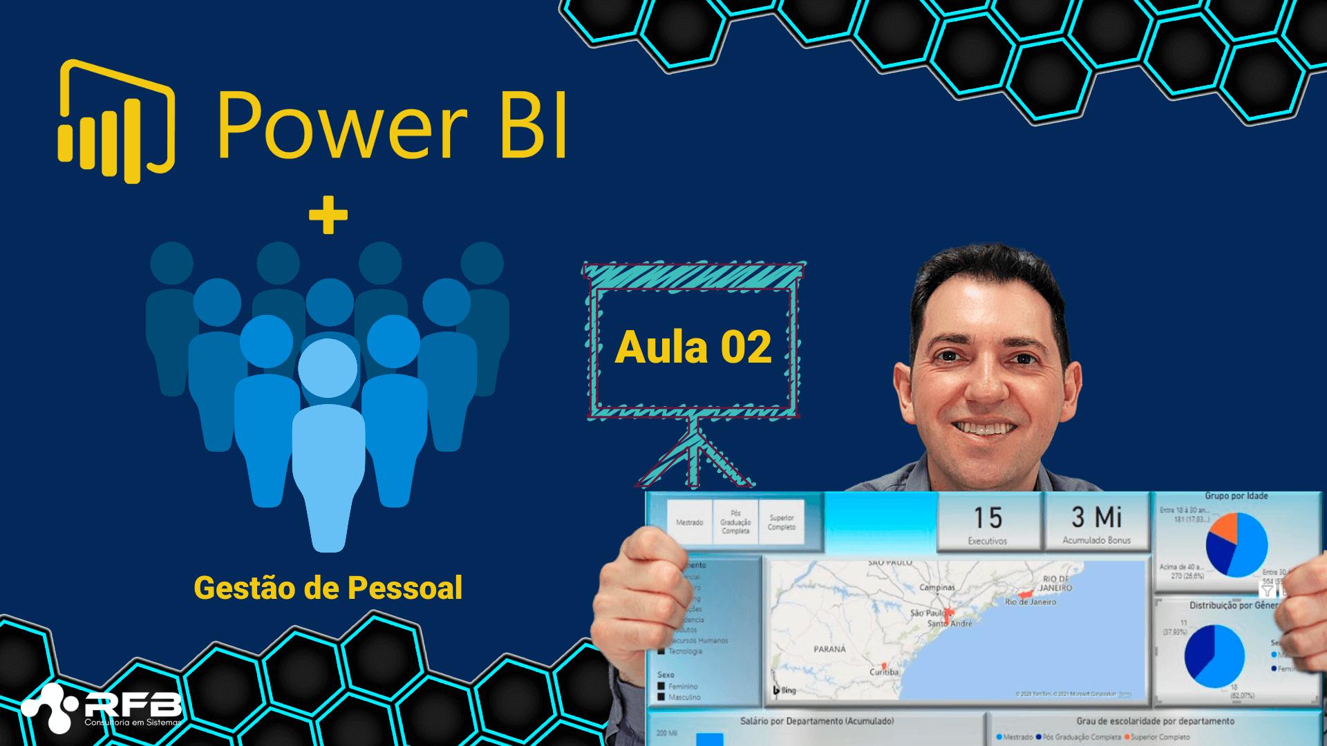 Colocando cartões e segmentações no Power Bi – Aula 2